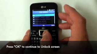 How to Unlock LG C195, C197, C199 in 5 Minutes by Unlock Code for Rogers, Fido