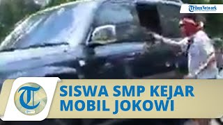 Alasan Siswa SMP di Lembata Kejar Mobil Jokowi dan Beri 'Surat Cinta': Kasih di Depan Umum Gak Bisa
