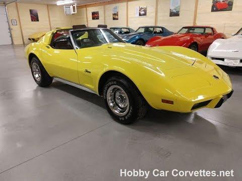 1976 Yellow L82 Corvette Hot Rod Video