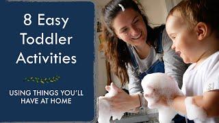 EASY INDOOR TODDLER ACTIVITIES (2) | For 1-2 Year Olds In Lockdown