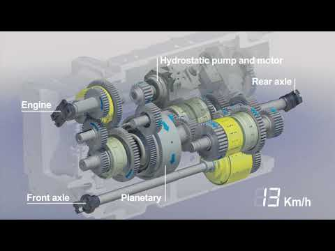 New Holland T8 Auto Command™ transmission