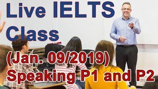 IELTS Live Class - Speaking - Tips for Band 9