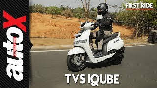 TVS iQube First Ride Video Review