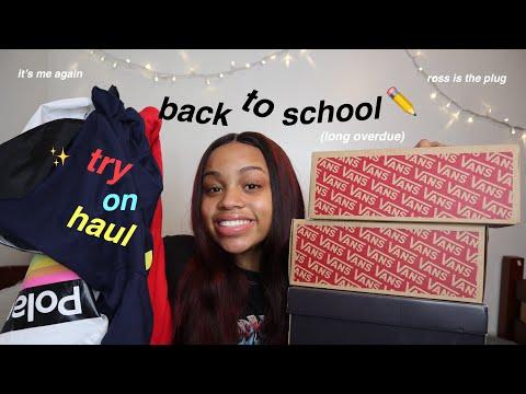 your standard back to school try on haul 2019 | seasonsofshai