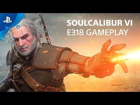 Gameplay E3 2018 de SoulCalibur VI