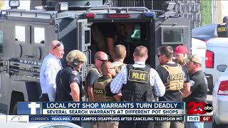 Local pot shop warrants turn deadly