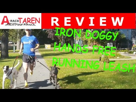 Running With Your Dog And The Hands Free Iron Doggy Leash Review