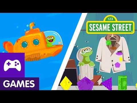 Sesame Street: Oscar's Rotten Ride/Junk My Jacket | Game Video