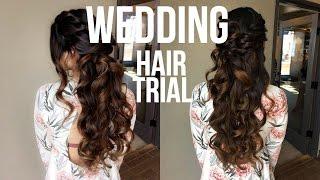Vlog: Wedding Hair Trial! || #fairytalefridays Episode #5