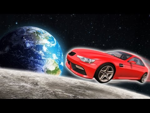 CARS IN SPACE CHALLENGE! (BeamNG Drive)