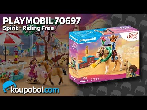 Vidéo PLAYMOBIL Spirit - Riding Free 70697 : Rodéo Apo