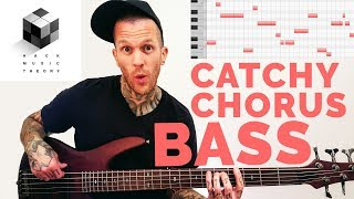 How to Write Bass Lines - Bass Guitar & MIDI Synth (Cool Chorus Bassline Melody) | Hack Music Theory