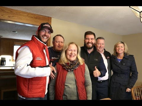 Derek and Jason Couto visit Noelle Siravo of Pawtucket, RI, winner of the Couto Cares/WPRO Operation Renovation roof giveaway contest. Stay tuned as Couto Construction gets ready to announce the next winner of the Couto Cares Roof Giveaway just before Thanksgiving. It's shaping up to be a great holiday season!
