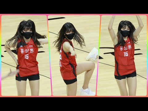 [4K] 치어리더 이푸른 직캠 (cheerleader) - 작전타임 공연 @남자농구경기/201115/Fanc…
