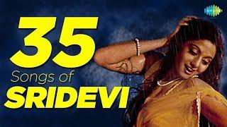 Top 35 Songs of Sridevi   श्रीदेवी के 35 गाने   HD Songs   One Stop Jukebox