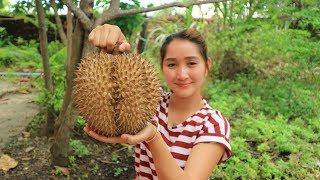 Yummy Durian Sticky Rice Dessert - Durian Sticky Rice Dessert Cooking - Cooking With Sros