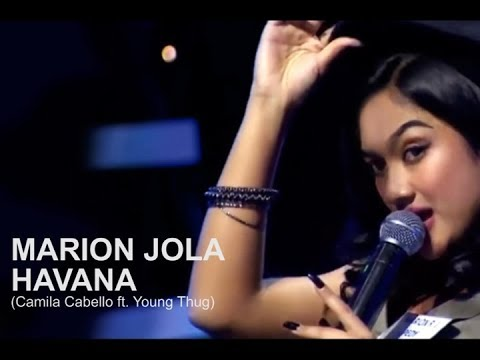 MARION JOLA HAVANA Camila Cabello ft Young Thug Lyrics