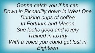 Adam Ant - Piccadilly Lyrics