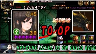Seven Knights - Shadow of Ambition (Guild Raid) I HAYOUNG LEVEL 30, Worth or NOT ?
