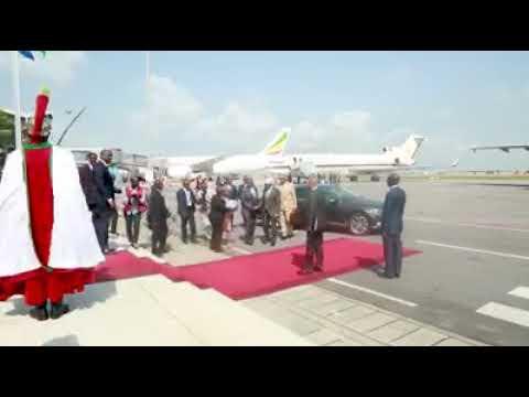 Daawo Madaxweyne Farmaajo oo ka qeyb-galaya Shirka 5aad ee Madasha Iskaashiga Midowga Afrika iyo Mid