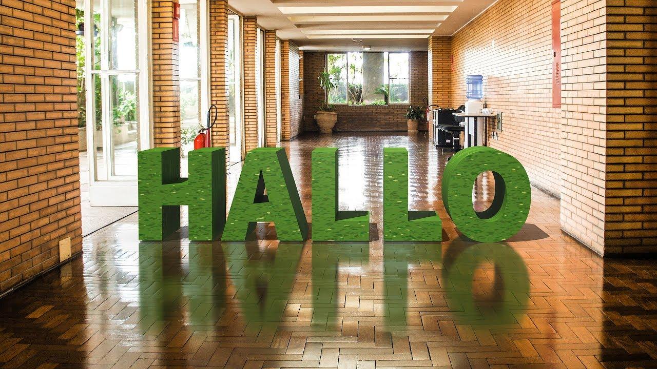3D-Text in Foto einfügen – Photoshop-Tutorial