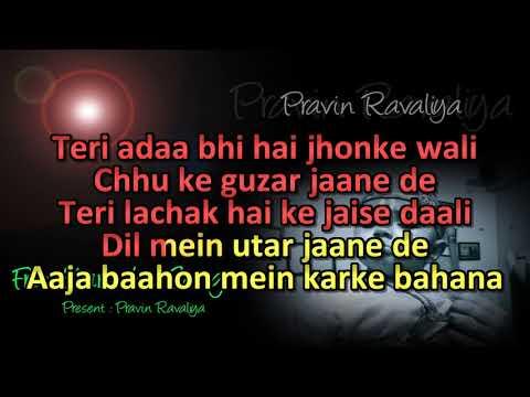 Chand Sifarish Song with Karaoke Lyrics | Fanaa