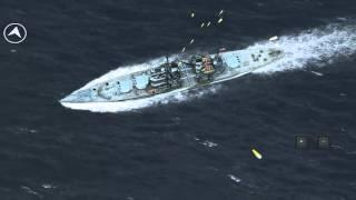 Atlantic Fleet: Stuka bomb strikes Vs HMS Lion