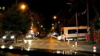 preview picture of video 'yozgat lise caddesi gece'