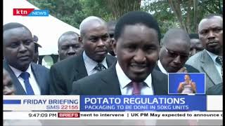 Kenyan government launches Irish Potato Regulations