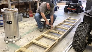 Building A Strong Ladder For A Deer Stand | Box Blind