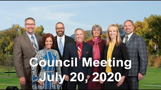 Preview image of Arvada City Council Meeting  - July 20 2020