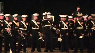 """""""Gangnam Style / Thunderstruck"""" live by the Third Marine Aircraft Wing Band"""