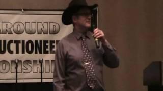 Joe Simpson Alberta Auctioneers Tyro Competition Lethbridge AB