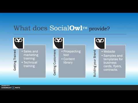 , title : 'SocialOwl -- Business 101