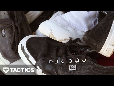 Rubber Toe Cap Skate Shoes Wear Test Review - Tactics.com