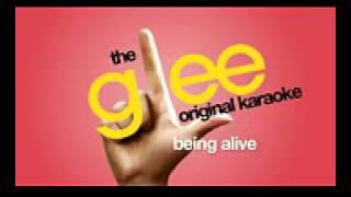 Glee - Being Alive - Karaoke Version