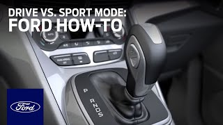 Drive vs. Sport Mode | Ford How-To | Ford