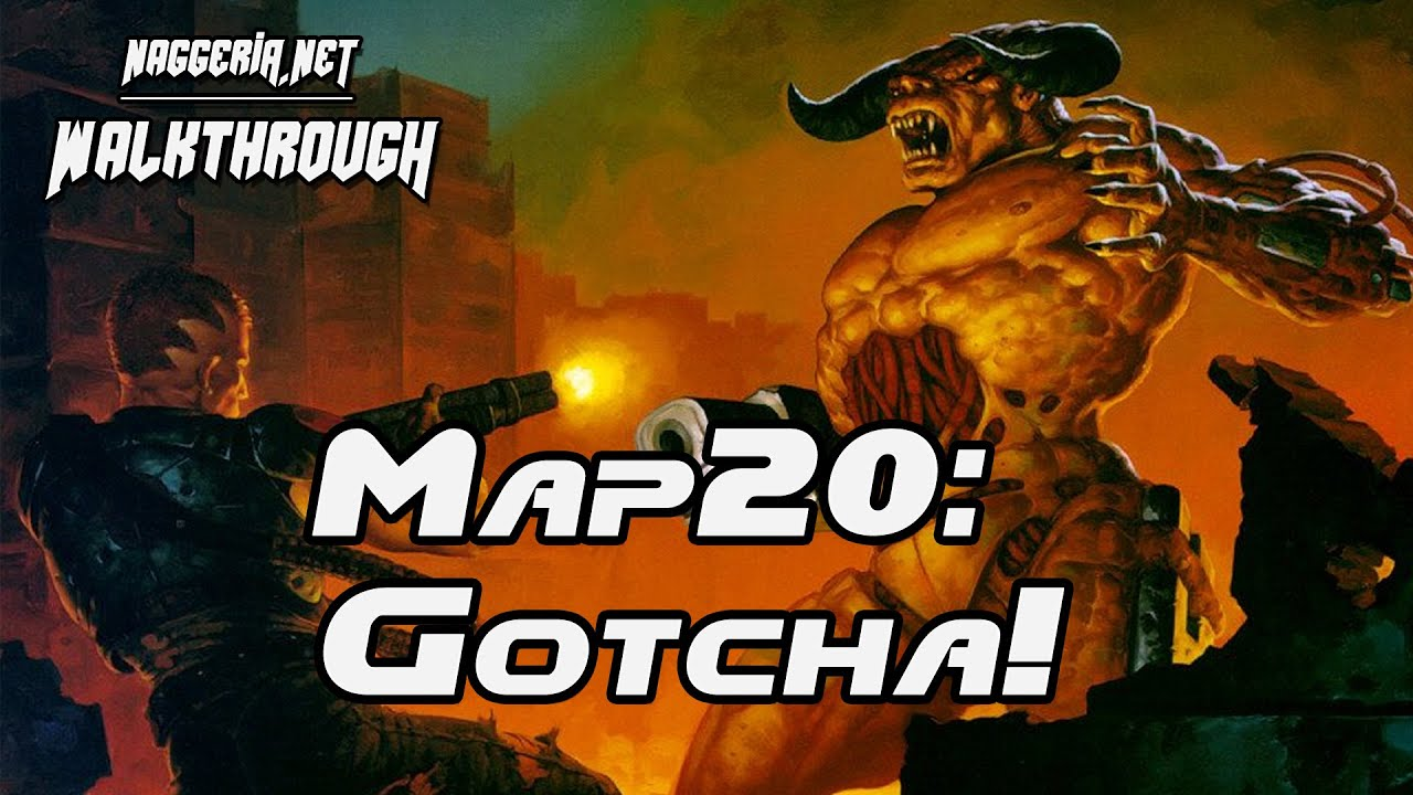 "[Doom 2 Komplettlösung] Map20: ""Gotcha!"" Walkthrough (Ultra-Violence)"
