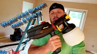 Wagner Flexio Electric Paint Sprayer: Does it Work?!