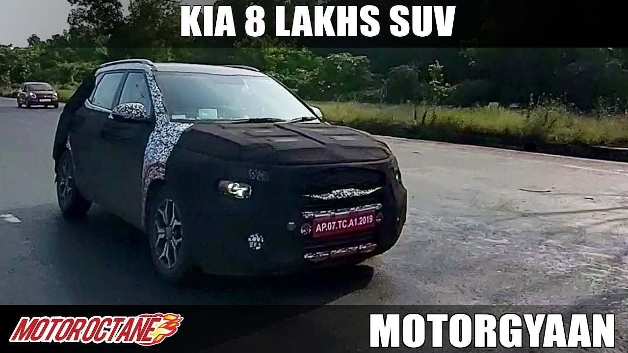 Motoroctane Youtube Video - Kia Rs 8 lakh SUV Coming | Hindi | MotorOctane