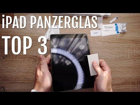 iPad Panzerglas - Alle 3 Varianten im Test
