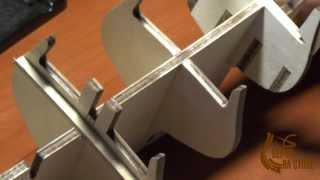 """Изготовление модели парусника, Фильм 3, 1-я серия. Сайт """"Верфь на столе"""""""
