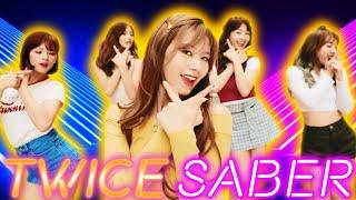 TWICE [ mystery song ] | BEAT SABER FPV 비트세이버