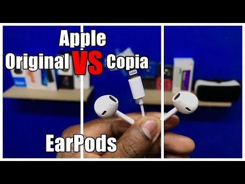 DIFERENCIAS ENTRE audífonos de iPhone originales o copias