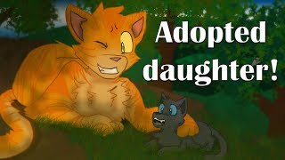 Bluestar's Adopted Father - Sunstar: Day 3 - Warrior Cats Speedpaint/Theory