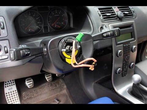 Volvo C30, Steering Wheel Replacement
