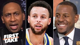 Stephen A. and Andre Iguodala debate Steph Curry's return from a broken hand | First Take