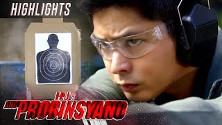 "Cardo (Coco Martin) tests out his preferred gun in a shooting range. (With English Subtitles)  Never miss any episode, exclusive contents and more of ""FPJ's Ang Probinsyano.  Subscribe to ABS-CBN Entertainment channel! - http://bit.ly/ABS-CBNEntertainment   Watch the full episodes of FPJ's Ang Probinsyano on TFC.TV http://bit.ly/AngProbinsyano-TFCTV and on iWant for Philippine viewers, click: http://bit.ly/AngProbinsyano-iWant   Visit our official websites!  http://entertainment.abs-cbn.com/tv/shows/angprobinsyano/main http://www.push.com.ph  Facebook: http://www.facebook.com/ABSCBNnetwork Twitter: https://twitter.com/ABSCBN  Instagram: http://instagram.com/abscbn  Episode 1136 Cast: Coco Martin (Cardo)  Watch more FPJ's Ang Probinsyano videos here: Highlights - http://bit.ly/AngProbinsyanoHighlights Recaps - http://bit.ly/AngProbinsyanoRecaps  #FPJAP4Pinagbantaan #FPJsAngProbinsyano  #AngProbinsyanoEP1136"