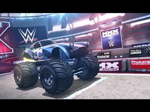 MMX Racing - Becoming Class WWE Champion! John Cena Monster Truck Simulator - Trucks For Kids Racing