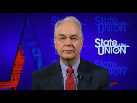 Tom Price full 'State of the Union' interview